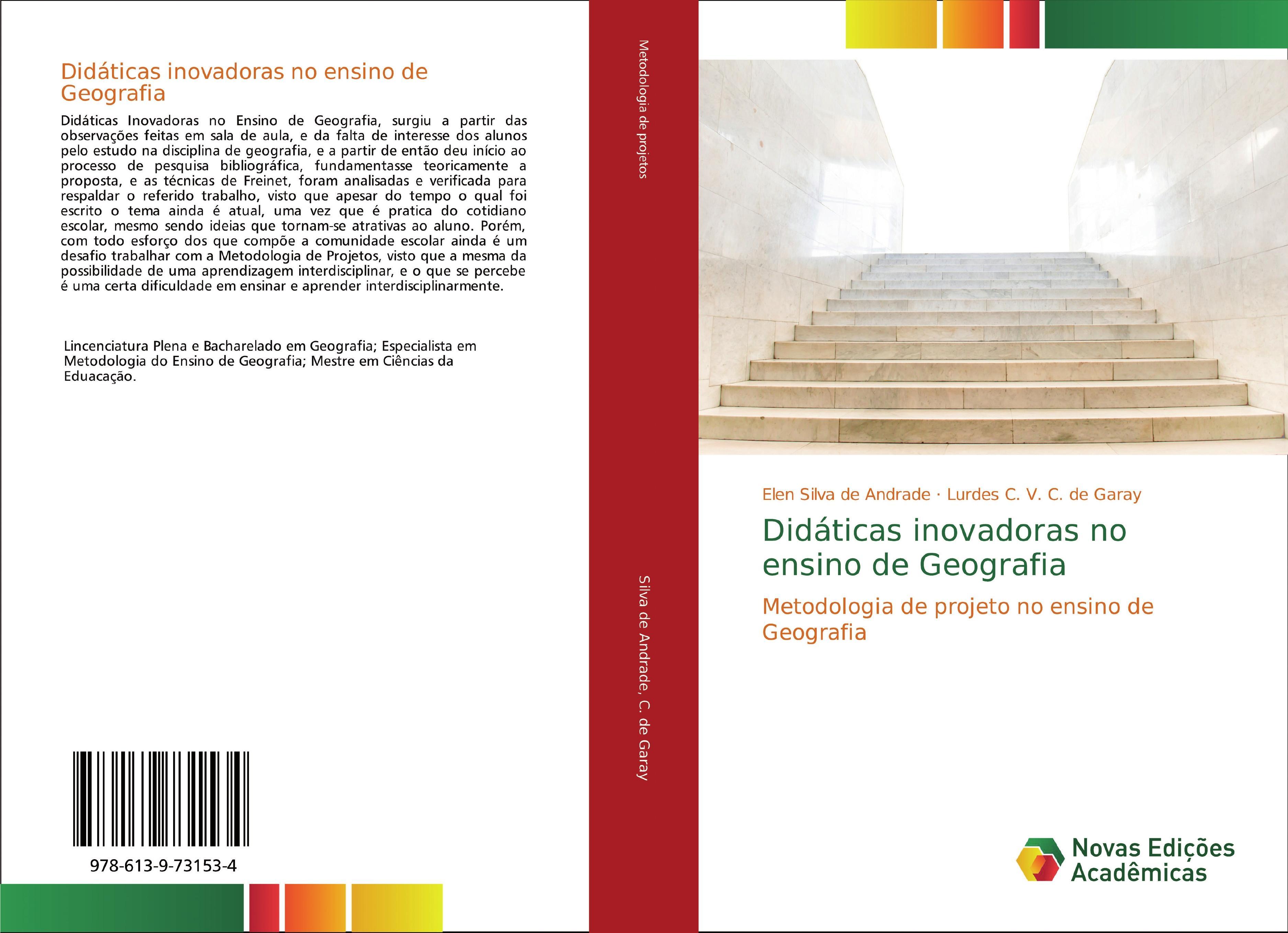 Didáticas inovadoras no ensino de Geografia  Elen Silva de Andrade (u. a.)  Taschenbuch  Portugiesisch  2018 - Silva de Andrade, Elen