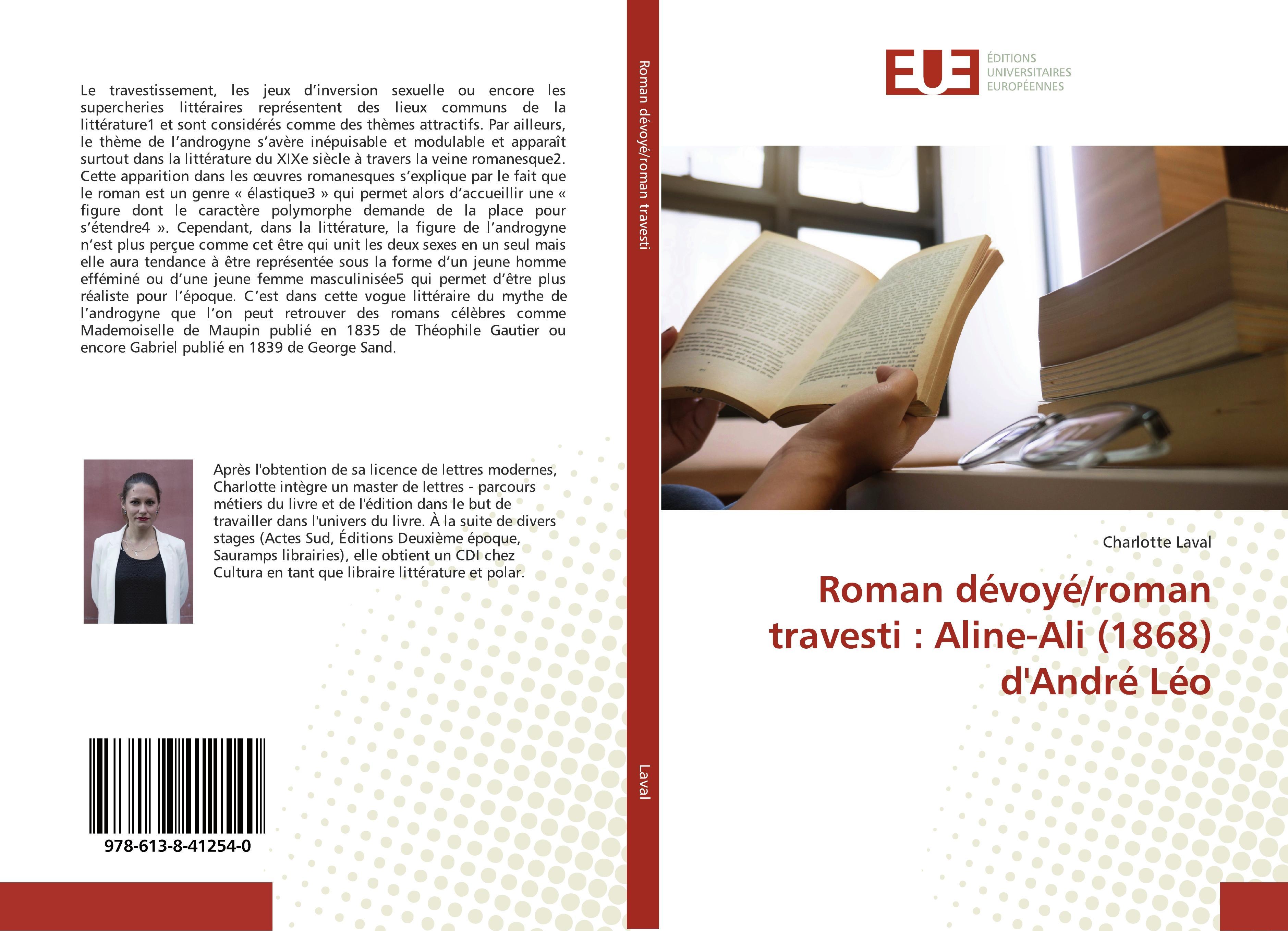 Roman dévoyé/roman travesti: Aline-Ali (1868) d'André Léo  Charlotte Laval  Taschenbuch  Französisch  2018 - Laval, Charlotte