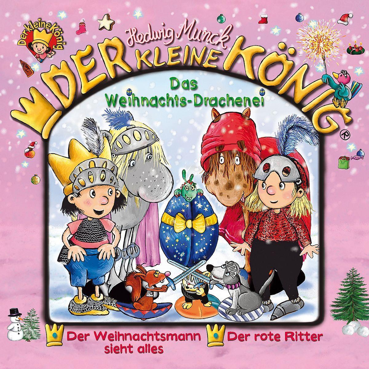 30: Das Weihnachts-Drachenei  der Kleine König  Audio-CD  2013