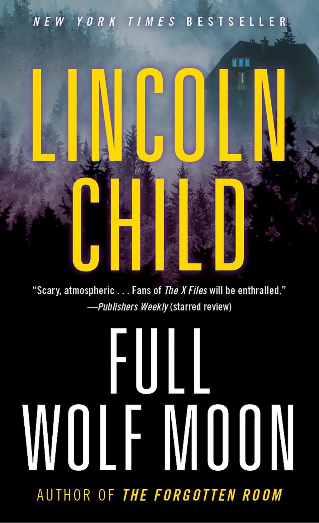 Full Wolf Moon  A Novel  Lincoln Child  Taschenbuch  Jeremy Logan  Englisch  2018 - Child, Lincoln