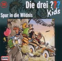 Die drei ??? Kids 19. Spur in die Wildnis (drei Fragezeichen) CD  Audio-CD  Die drei ??? Kids (Audio)  Deutsch  2011