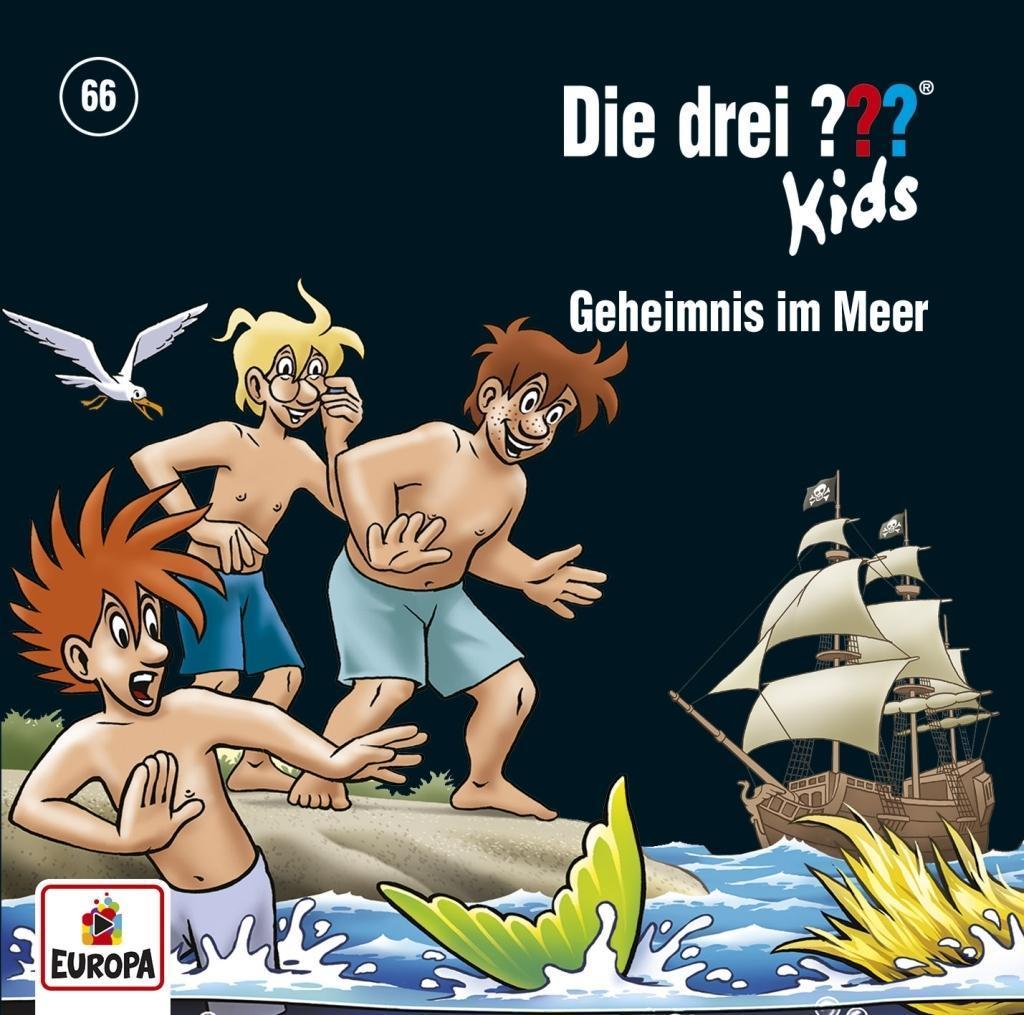 Die drei ??? Kids 66: Geheimnis im Meer  Ulf Blanck  Audio-CD  Die drei ??? Kids  Deutsch  2018 - Blanck, Ulf