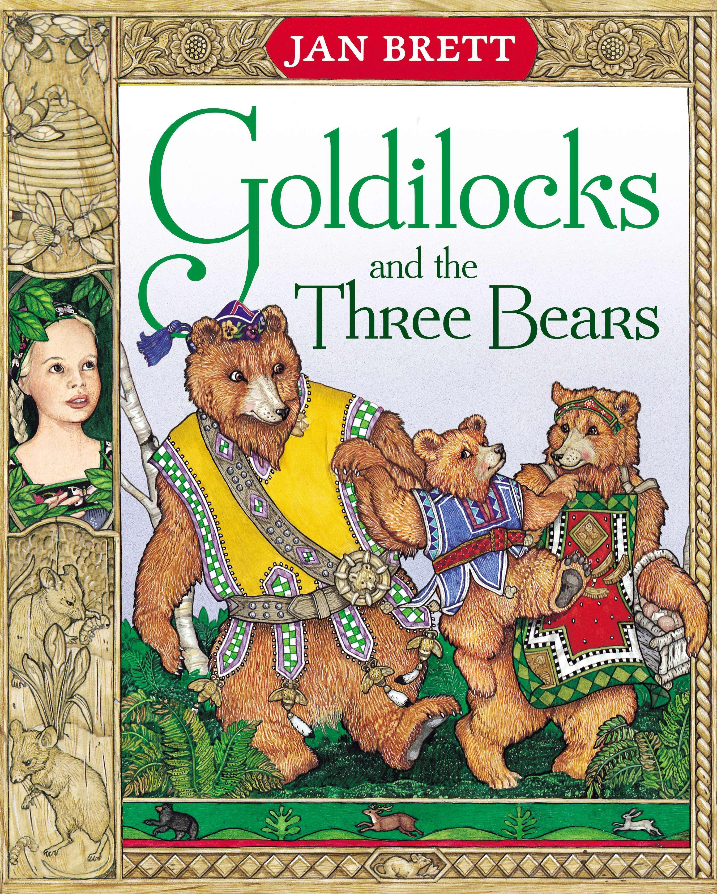 Goldilocks and the Three Bears  Jan Brett  Taschenbuch  Englisch  1996 - Brett, Jan